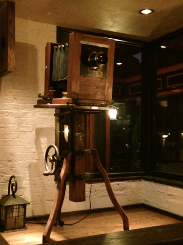 AntiqueCameraatRicaltonsRestaurant nbspThe Silverstrom Group NJ