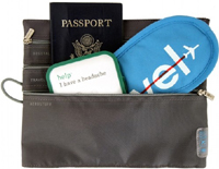 charcoal Flight Pak Four Travel Essentials for Your Vacation